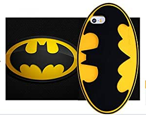 Hot 3D cartoon Batman shield soft Silicone Case Back Cover Skin phone case for apple iphone 5 5s 5c