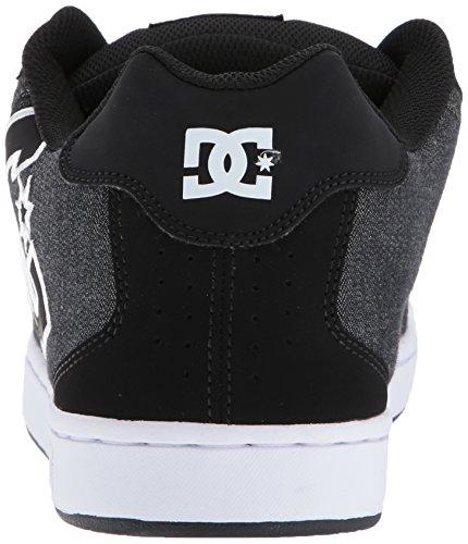 Dc Heren Net Se Skate Schoen Zwart Vernietigen Wash