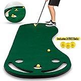 Best Indoor Putting Greens - Abco Tech Golf Putting Green Grassroots Mat Review