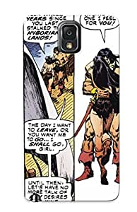 Excellent Galaxy Note 3 Case Tpu Cover Back Skin Protector Conan And Belit Together Again For Me At Least