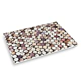 Abbott Collection Home All Over Cork Table Mats, 50-Piece, Brown