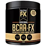 NutraFX BCAA Powder - New Improved Formula - No Bitterness - Branched Chain Amino Acids 2:1:1 Ratio Improved Muscle Building Recovery Formula - 40 Servings - 6 Grams Per Serving (Flavored Single Pack)