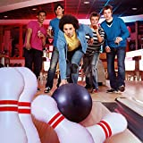 June Fox Giant Bowling Set, Inflatable Bowling Set