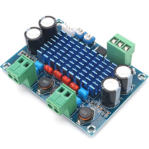 - WINGONEER XH-M572 120W Ultra Power TPA3116D2 Digital Amp Audio Amplifier Board Module DC 5-28V