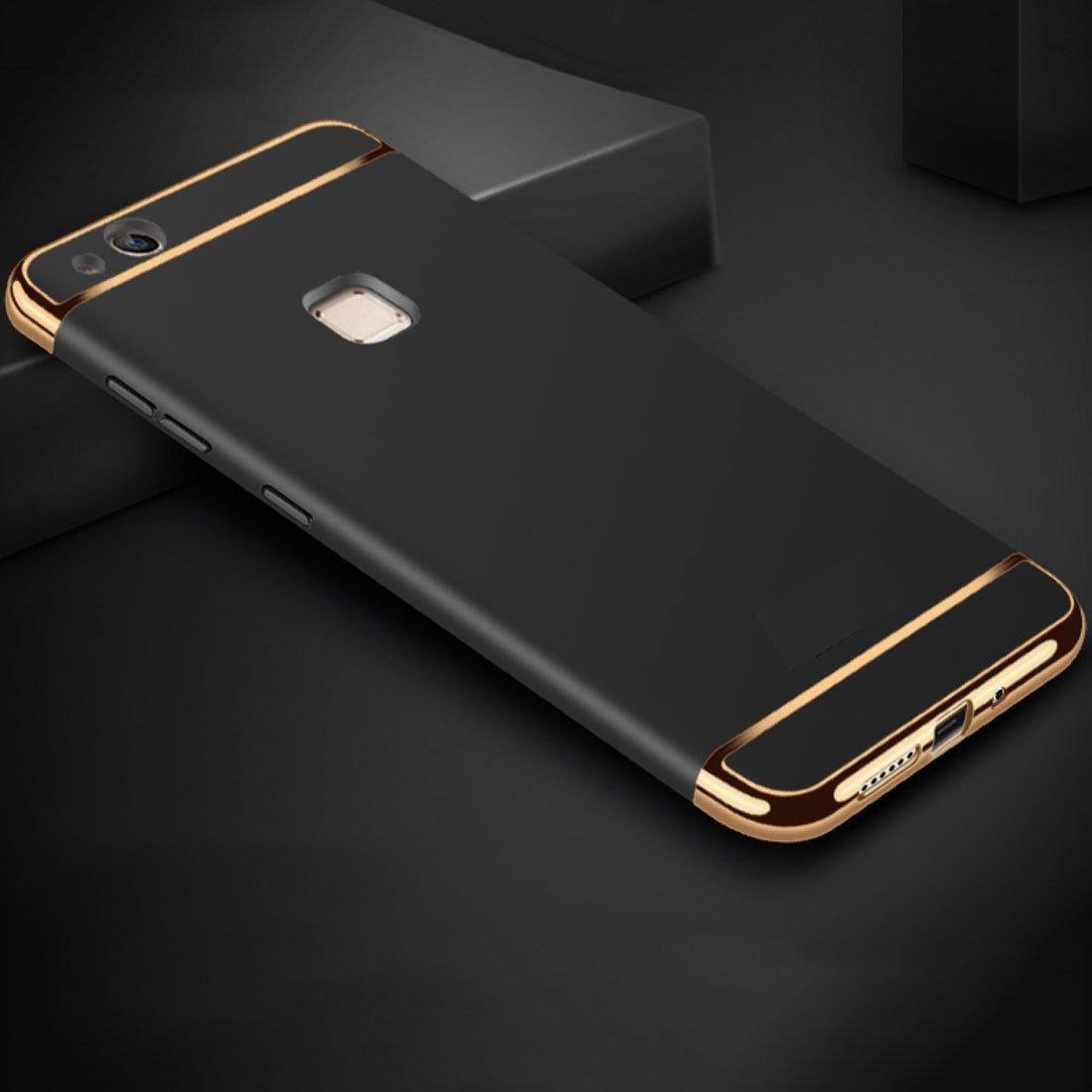 könig-shop Funda de móvil carcasa de protección para Huawei P10 LITE CARCASA 3 en 1 Cubierta Cromo N...