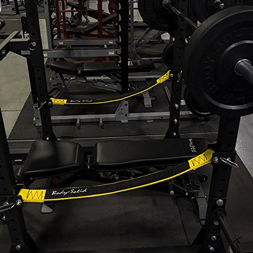 GymBasis Body-Solid SPRSS Premium Safeties (pair) for Power Rack SPR1000 by GymBasis