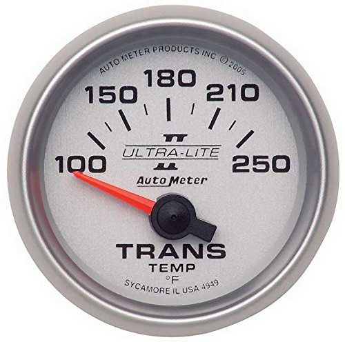 Auto Meter 4949 Ultra-Lite II Air-Core Transmission Temperature ()