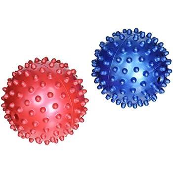 Pet Supplies : Pet Toy Balls : Rubber Spike Dog Balls