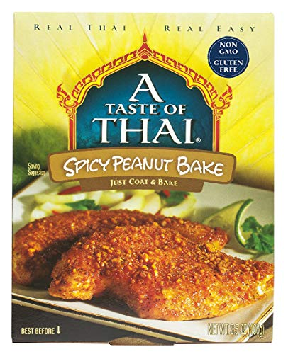 Peanut Annie (A Taste of Thai Spicy Peanut Bake, 3.5 oz Box, 6 Piece)