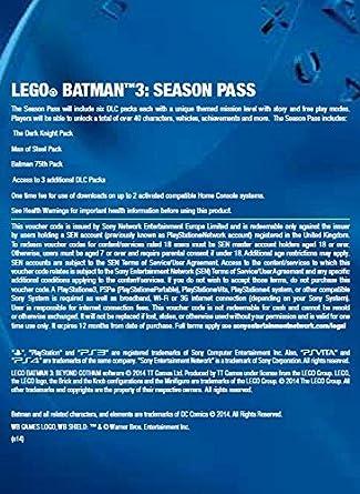 LEGO® Batman(TM) 3: Beyond Gotham Season Pass [PS3 PSN Code - UK ...