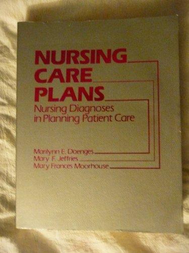 Nursing Care Plans: Nursing Diagnosis in Planning Patient Care