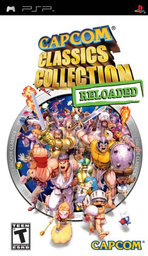 Air Reloaded - Capcom Classics Collection Reloaded - Sony PSP
