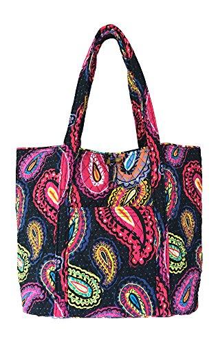 Vera Bradley Vera Tote Bag, Twilight Paisley