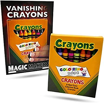 Amazon.com: Magic Makers Vanishing Crayons Magic Trick: Toys & Games