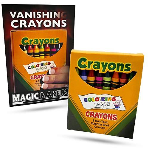 VANISHING CRAYONS BY MAGIC MAKERS TRICK CLOSE UP SHOW VANISH GIMMICK PROP KIDS