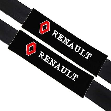 2PCS car seat belt shoulder pad pair covers cushion interior fits for RENAULT