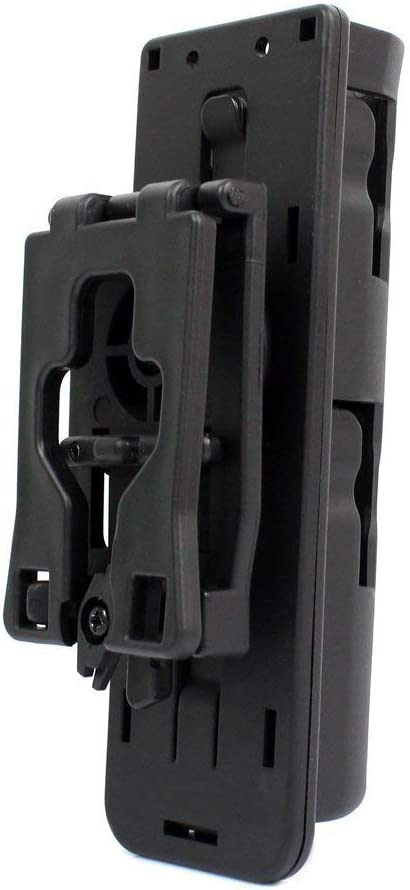 360 TACTICAL Black Durable Expandable Baton Holster Scabbard with Adjustable Str