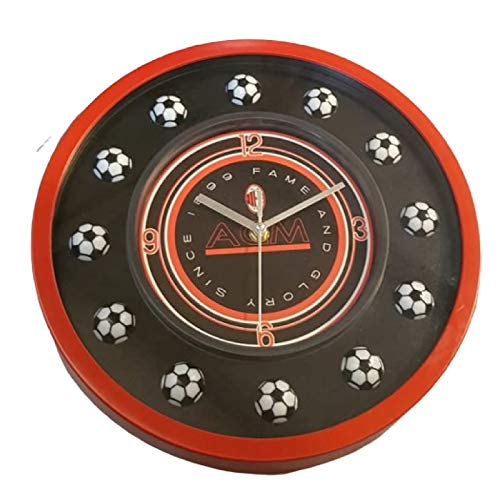 Official AC MILAN large home style wall clock 30CMS
