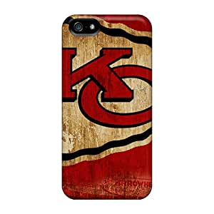 Iphone 5/5s DgK12991HbXR Support Personal Customs Nice Kansas City Chiefs Image Shockproof Hard Phone Case -SherriFakhry
