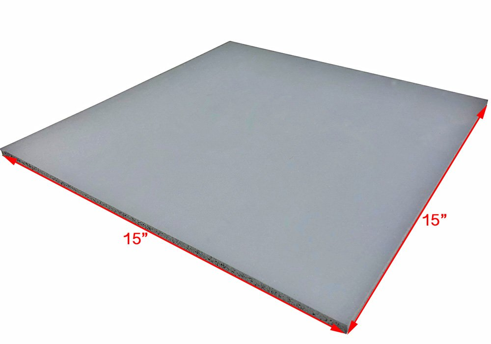 """ePhotoInc 15'' x 15"""" Silicone Heat Press Pad Mat Silicone Pad for Heat Transfer Machine Press Replacement Pad 15Pad by ePhotoinc"""