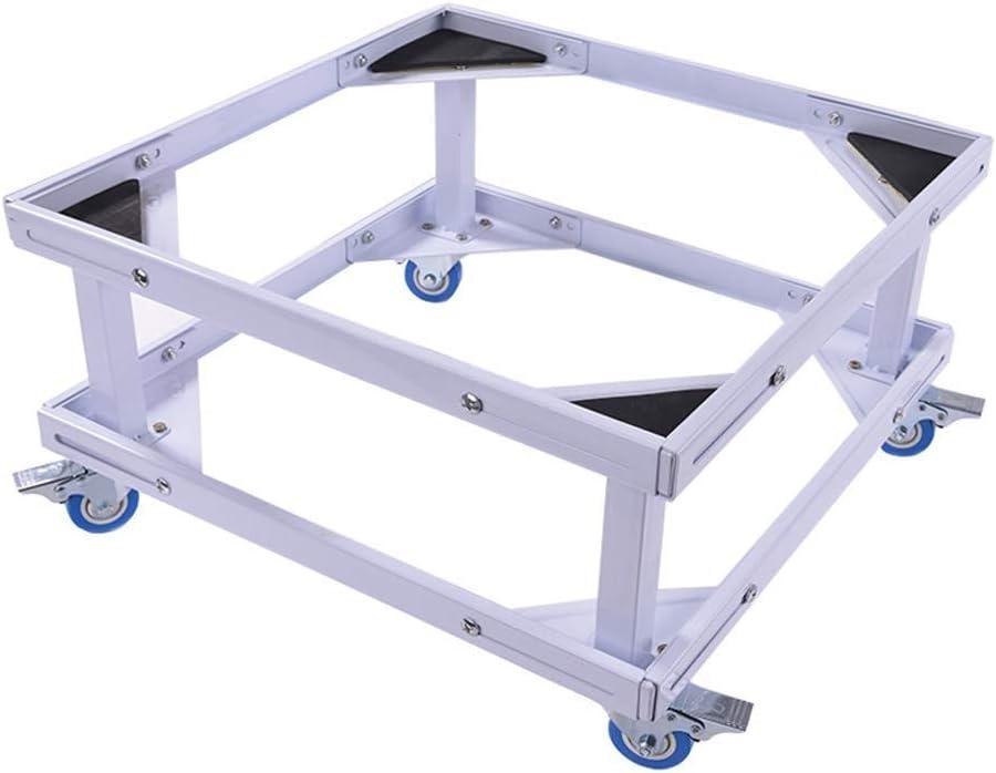 洗濯機用ブラケット 4つの固定車輪が付いている洗濯機の二重層の基礎ブラケット、調節可能な移動式洗濯機の高さの基盤 洗濯機用ブラケット (サイズ さいず : 30センチメートル)