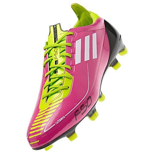 F50 Adizero TRX FG W Pink/Green Size 9.5 Womens