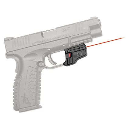 Crimson Trace DS-123 Defender Series Accu-Guard Red Laser Sight for  Springfield Armory XD, XD MOD 2 and XD(M) Pistols
