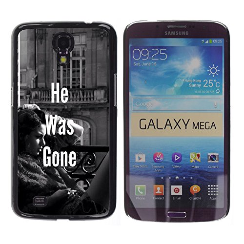 he was gone girl on balcony photography love OYAYO CASE Samsung Galaxy Mega 6.3 I9200 SGH-i527 Awesome case designs for every taste! Top notch protective cover for your - Photography Sgh