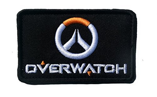 "OVERWATCH LOGO of Video Game Franchise 3"" x 2"" Morale Tactic"