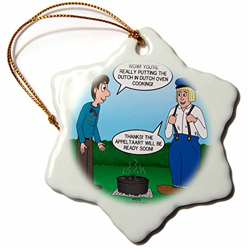 3dRose Rich Diesslin KNOTS Scout Cartoons - Dutch Oven Cooki