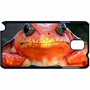 New Style Customized Back Cover Case For Samsung Galaxy Note 3 Hardshell Case, Back Cover Design Frog Personalized Unique Case For Samsung Note 3