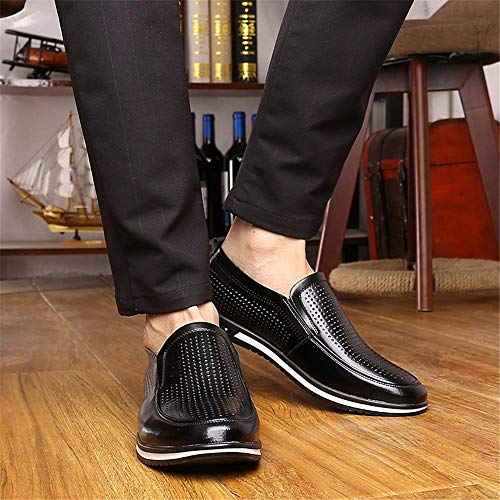 Formal Summer White 42 Mens Black Hohle Casual Oxford Colore New Eu Dimensioni Scarpe Hohles Optional Hollow 38 Black comode Conventional Colorato Hollow Size Business 2018 x4IRqBw0R