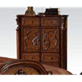 ACME 12146 Dresden Chest, Cherry Oak Finish