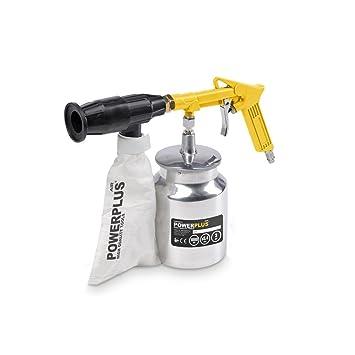 Pistola de arenado neumática hojas POWAIR0014 compresor aire de admisión: Amazon.es: Bricolaje y herramientas