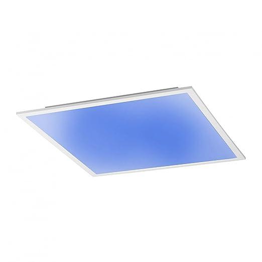 Licht-Trend Q-Flat 45 x 45 cm LED Deckenleuchte RGBW + Fb. Weiss ...