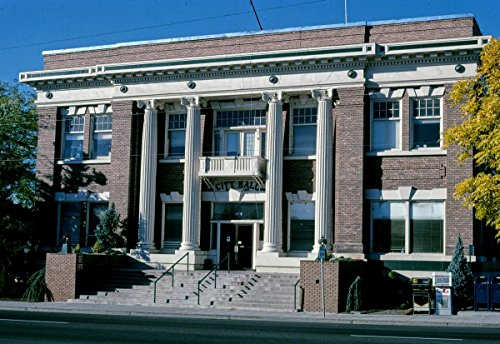 (Roadside America Photo Collection | 2003 City Hall, Angle 2, S. 5th Street, Klamath Falls, Oregon | Photographer: John Margolies | Historic Photographic Print 12in x 08in )