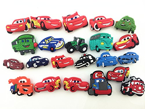 1bc0adab0 22 Disney pixar Cars Lightning Mcqueen Shoe Charms for Croc Shoes