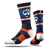 Strideline 2.0 Mike Ditka Chicago Bears NavyOrangeWhite Crew Socks