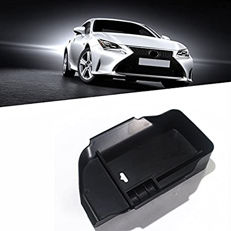Salusy Car Center Console Armrest Box Glove Box Secondary Storage Tray Compatible with Lexus NX 200t Lexus NX 300h 2015 2016 2017