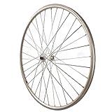 Sta-Tru Silver Alloy ruta Hub Front Wheel (700X25)