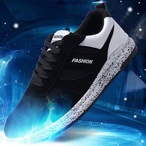 Hommes Hommes Plein Chaussures à antidérapantes Sport l'usure Antichoc 6626 Chaussures Respirant en résistant Casual Chaussures de air wH1Hdqtx