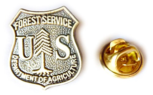 US Forest Service Ranger USDA Recreation Parks Lapel Pin