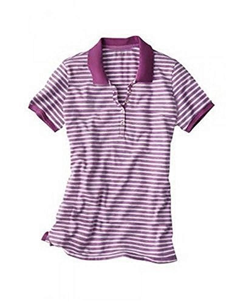 Camiseta polo Mujer de Eddie Bauer - algodón, lila, morado, 95 ...