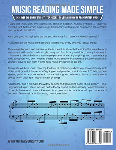 Buy How To Read Music For Beginners A Simple And Effective Guide