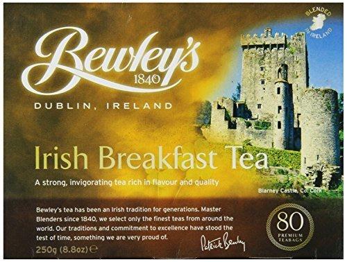 Bewley's Irish Breakfast Tea 250 g 80 Tea Bags by Bewley Irish Imports [Foods] ()