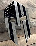Fox MetalFab Powder Coated Steel Spartan Trailer Hitch Cover/Insert (Subdued American Flag)
