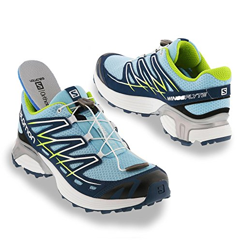 Flyte SS15 Women's Wings Salomon Laufschuhe Blau Trail 7X5AzwTq