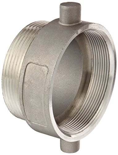 Dixon 3030RDSSAP Stainless Steel Tank Truck Fitting, Thread Adapter, 3'' BSPP Female x 3'' NPT Male by Dixon Valve & Coupling