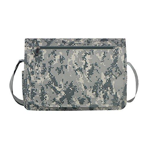 East West U.S.A MC102 Tactical Digital Camouflage Classic Messenger Bag, Camo