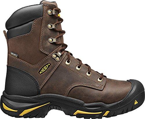 KEEN Utility Men's Mt. Vernon 8 inch Work Boot, Cascade Brown, 9.5 EE US Cascade Work Boot